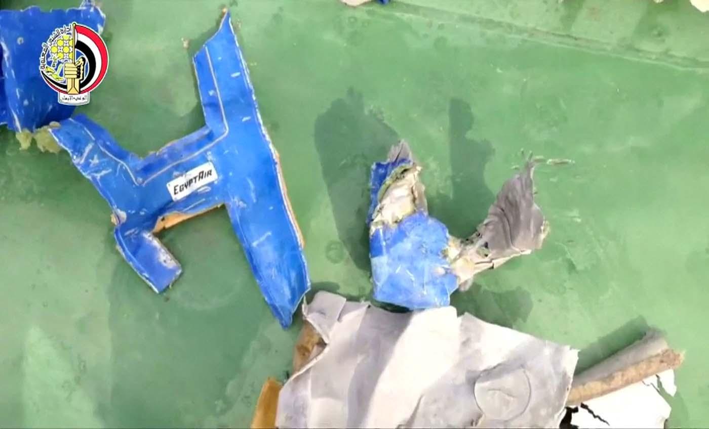 Investigadores encuentran rastros de explosivos — Egyptair