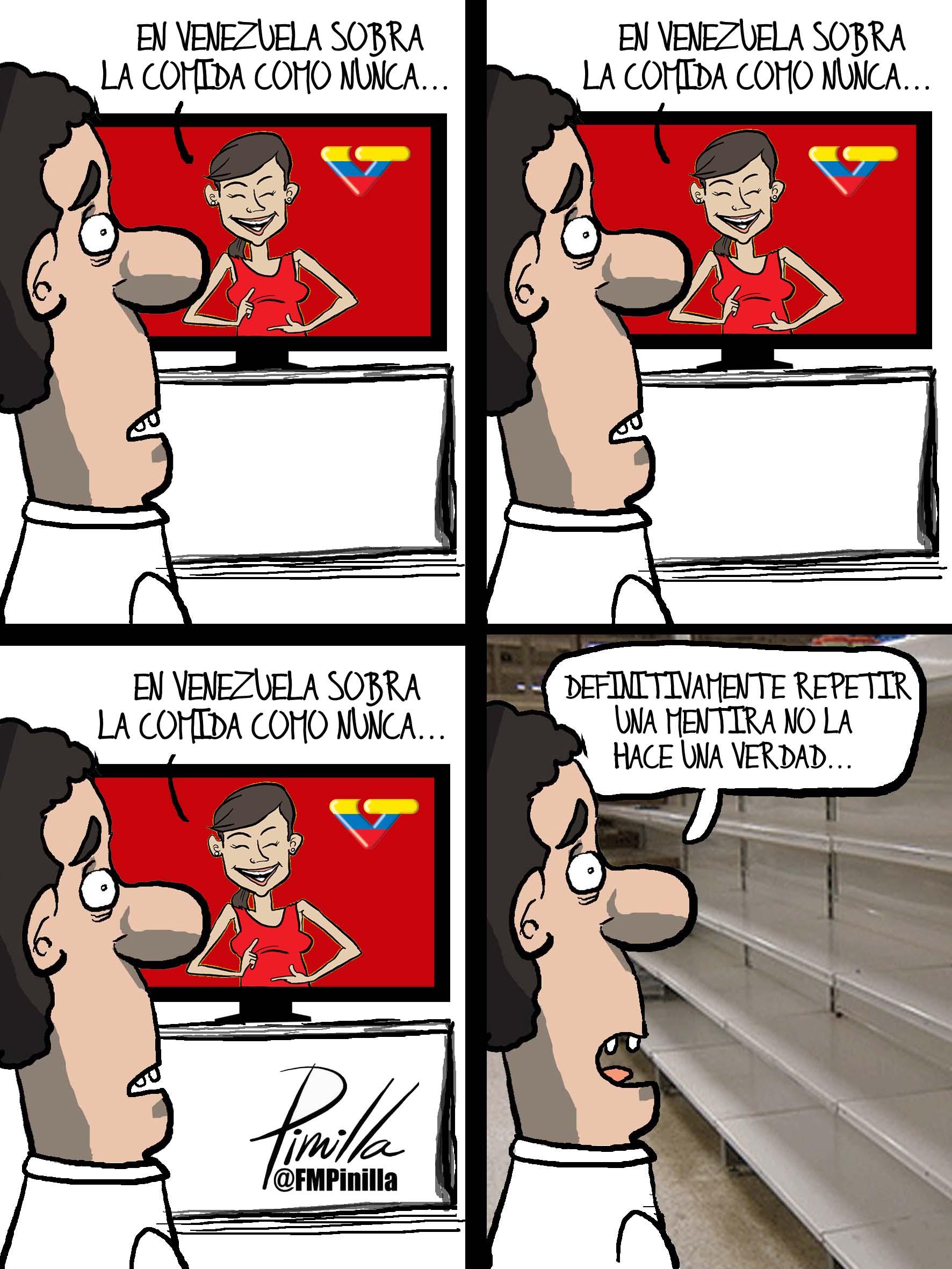 EN VENEZUELA SOBRA LA COMIDA