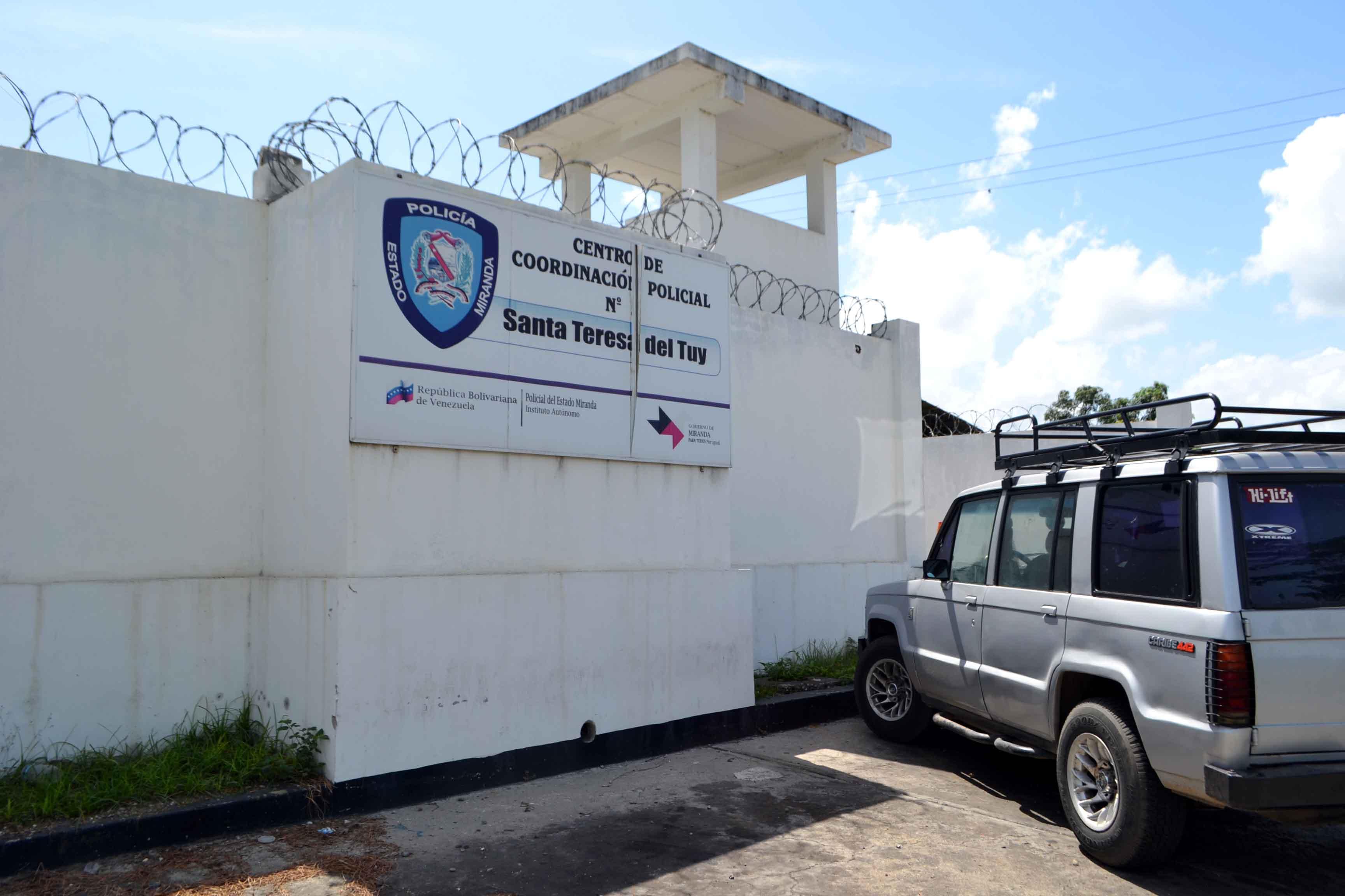 Centro de Coordinación Policial N5 - Santa Teresa.</body></html>