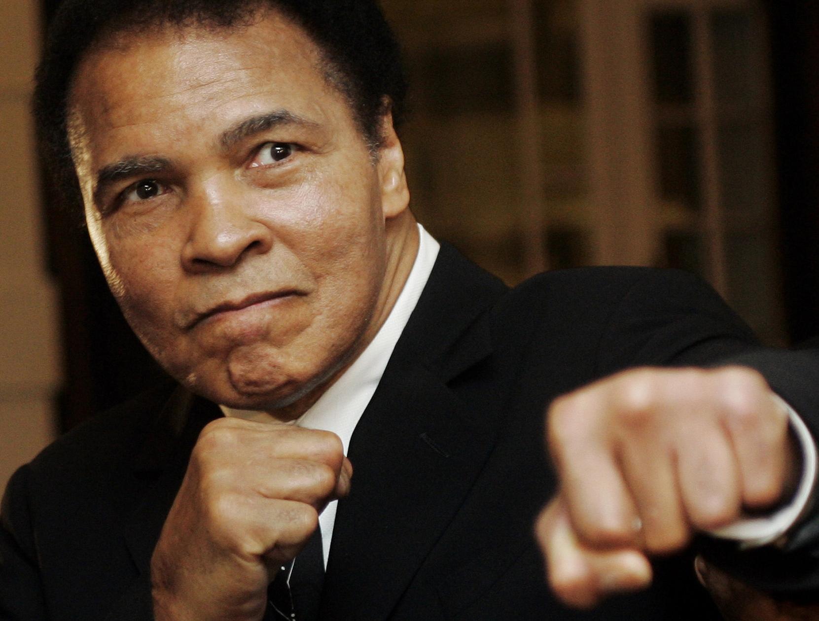 Muhammad Ali, ex boxeador (Foto: Archivo)