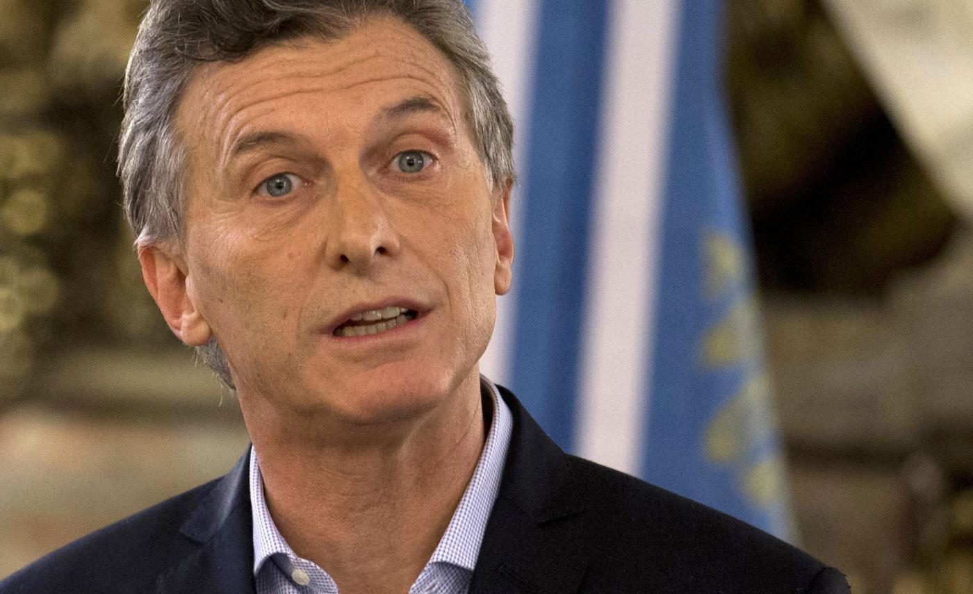 Mauricio Macri, presidente de Argentina (Foto: AP)