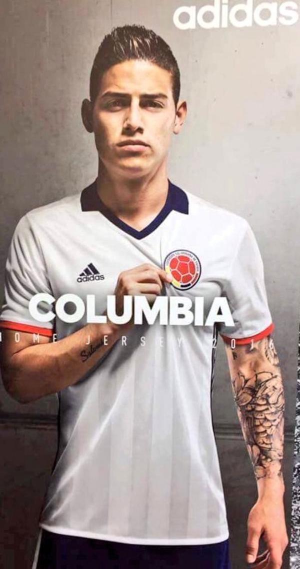 Adidas la pecheo hasta el fondo con Colombia!