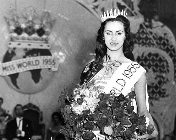 VENEZUELA Susana Duijm, Miss Mundo 1955 (2)