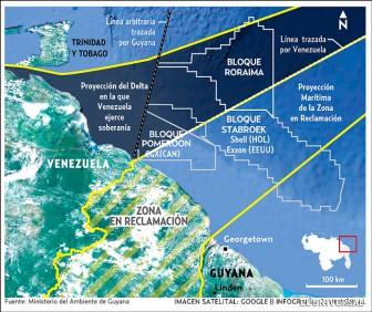 Venezuela_Guyana_concesiones_gas