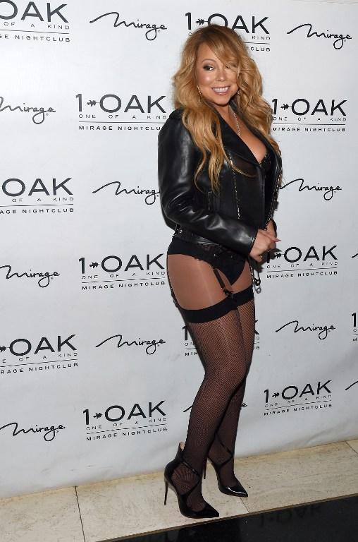 LAS VEGAS, NV - JUNE 26: Singer/songwriter Mariah Carey arrives at 1