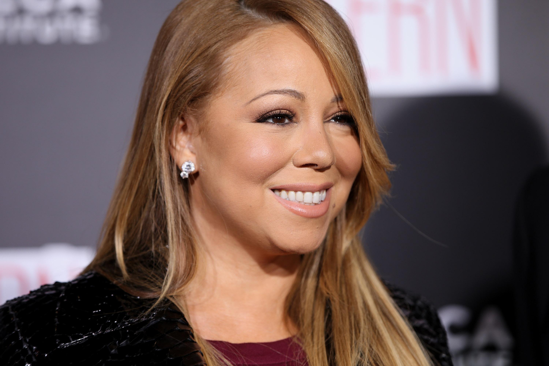 NEW YORK, NY - SEPTEMBER 21:  Mariah Carey attends 'The Intern' New York Premiere at Ziegfeld Theater on September 21, 2015 in New York City.  (Photo by Neilson Barnard/FilmMagic)