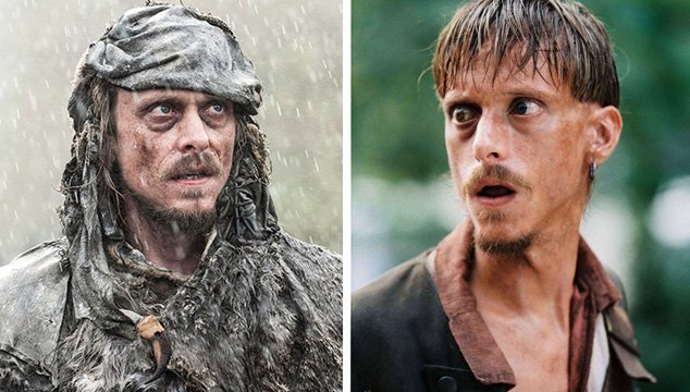 Era igual de feo cuando hacía de Ragetti en 'Piratas del Caribe'.