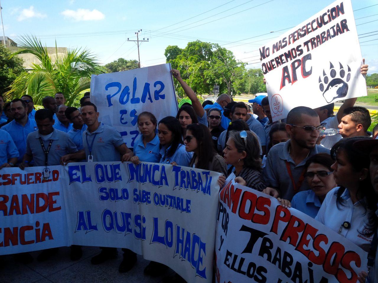 Trabajadores de Polar denunciaron agresiones durante inspecciones