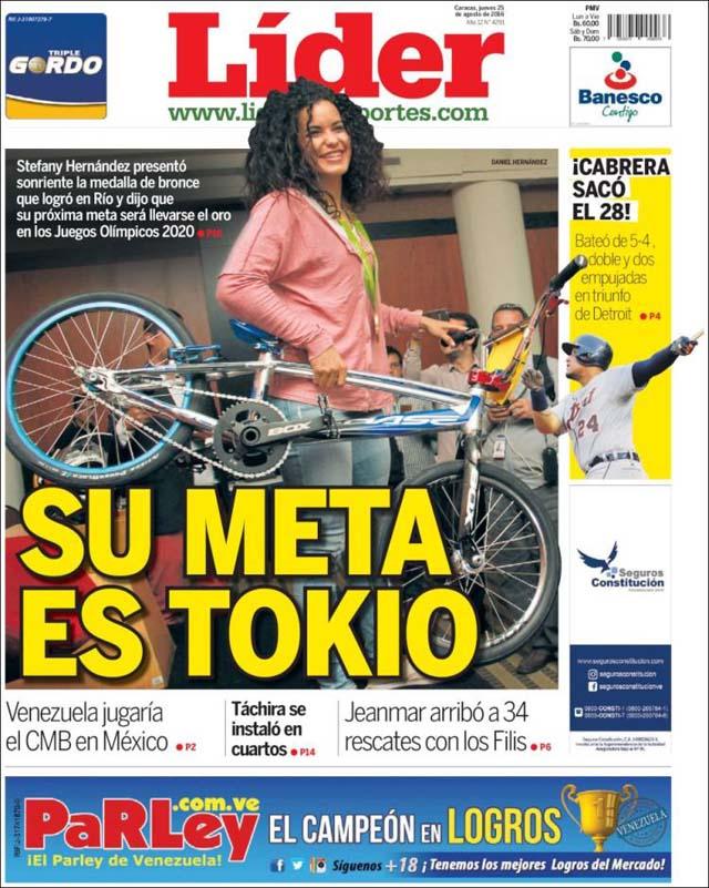 Las portadas de los diarios nacionales y regionales de for La patilla nacionales