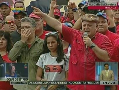 Diosdado Cabello: No solo vamos a trancar Caracas para que nadie entre sino para que nadie salga