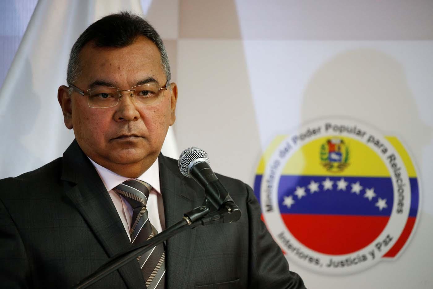 Ministro de Interiores, Justicia y Paz, Néstor Reverol / Foto: Reuters