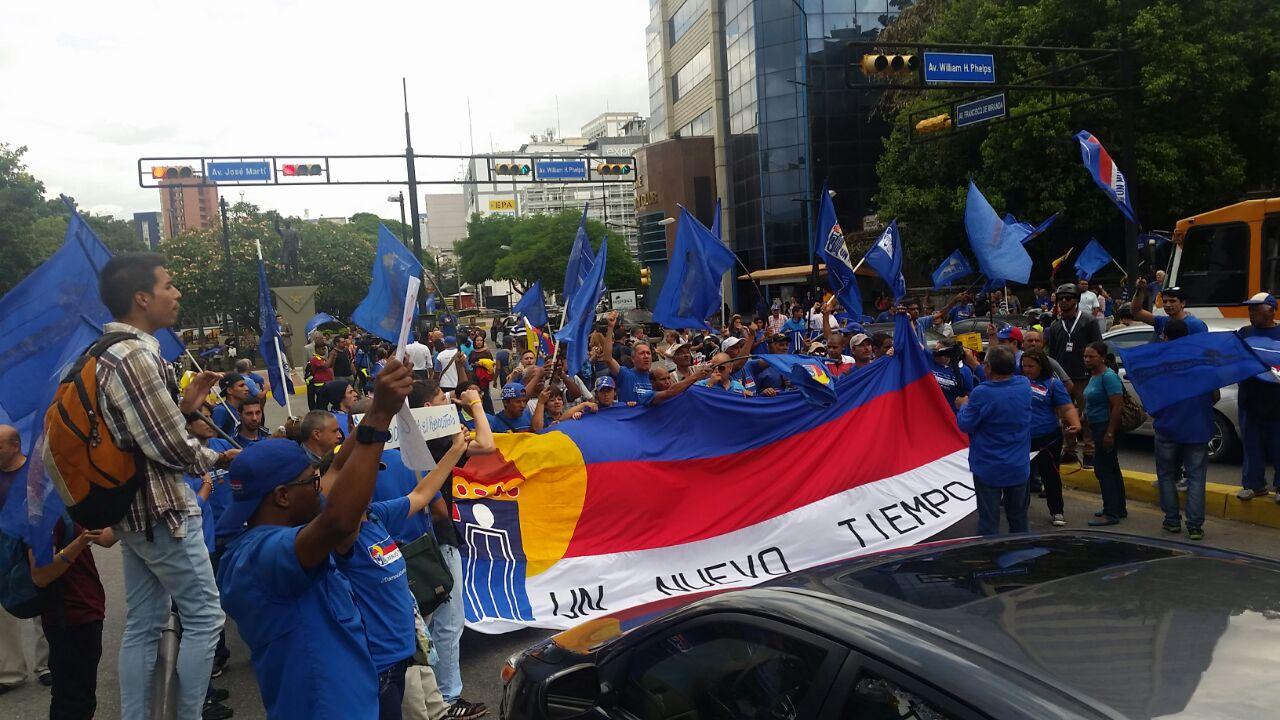 UNT alertó que CNE buscan hacer ver a la oposición como violenta para frenar el RR