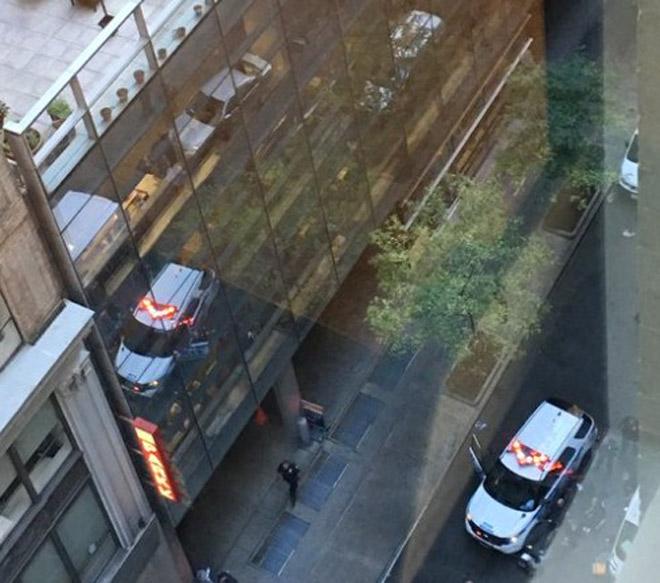 Nueva York: reportan un ataque con cuchillo a un policía