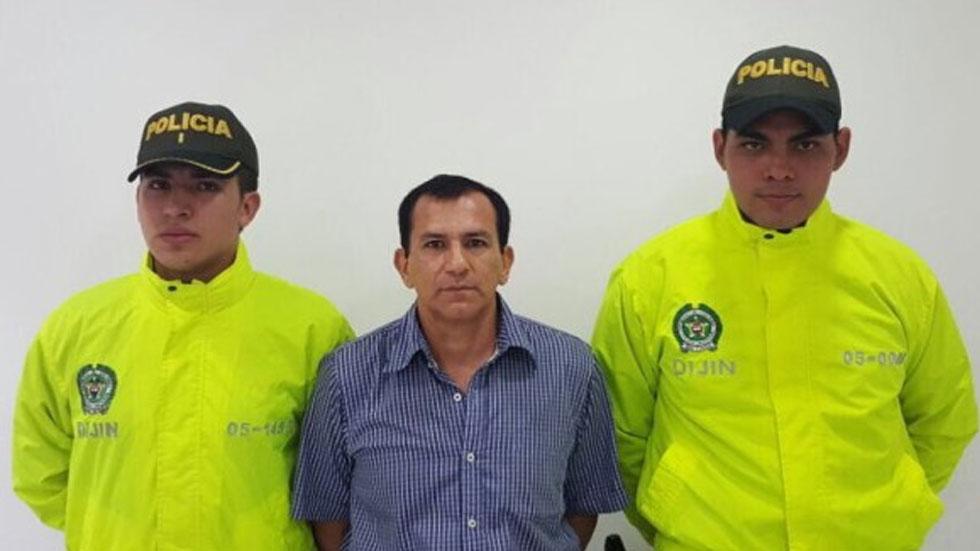 Capturan a líder de una de las principales bandas criminales de Colombia