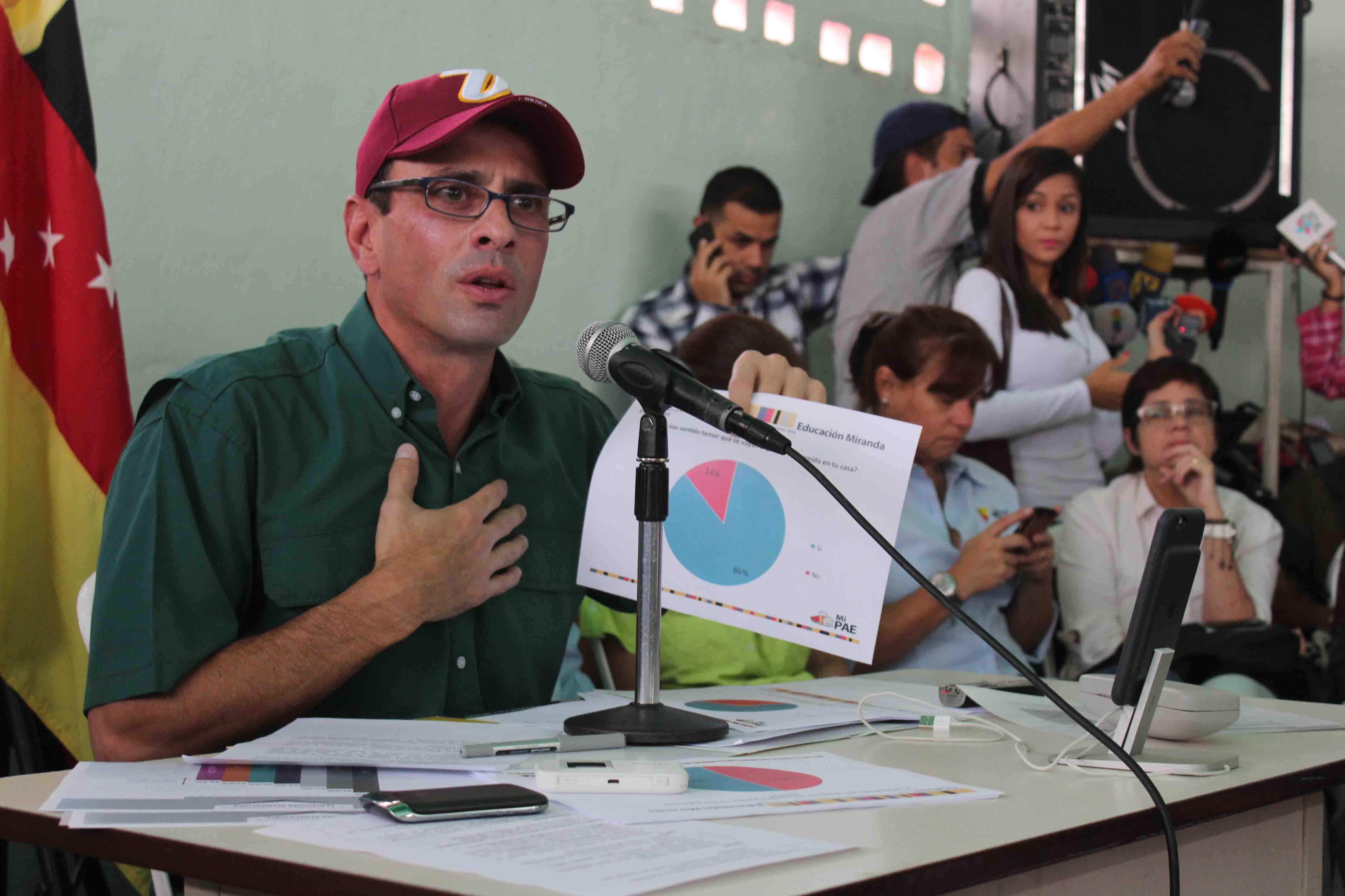 Rectoras del CNE creen que la paciencia del pueblo es infinita — Capriles