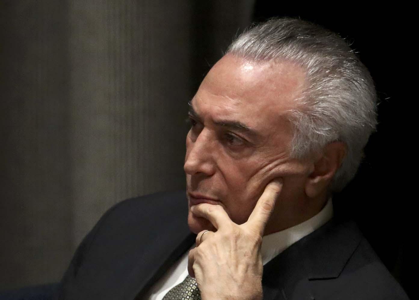 Macri tendrá su primera bilateral con Temer como presidente de Brasil