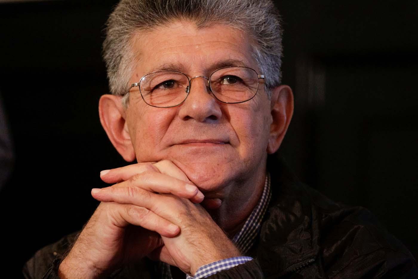Rodríguez denunció a Ramos Allup ante el MP por vilipendio