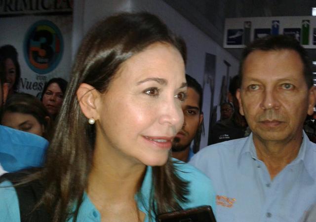 María Corina Machado: Hoy la Huelga General será aún más firme que ayer