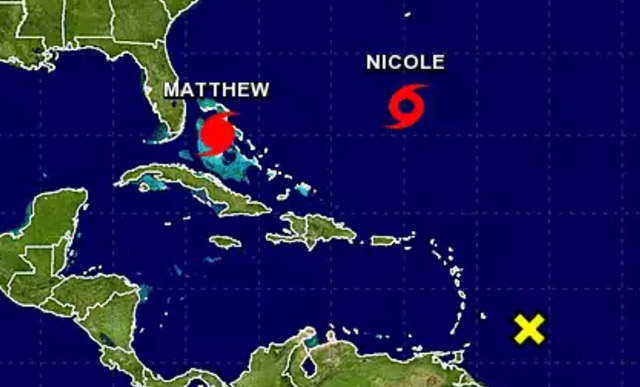 Resultado de imagen para Se forma al sur de Bermudas un segundo huracán, Nicole