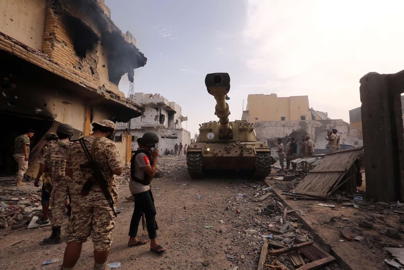 Bombardeo en Libia / Imagen referencial / Reuters