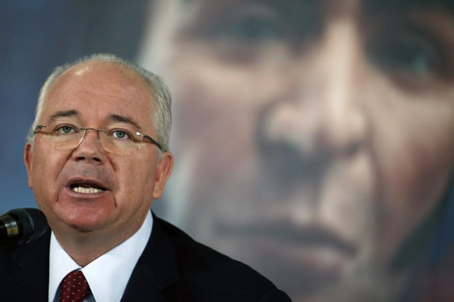 El representante de Venezuela en la ONU, Rafael Ramírez