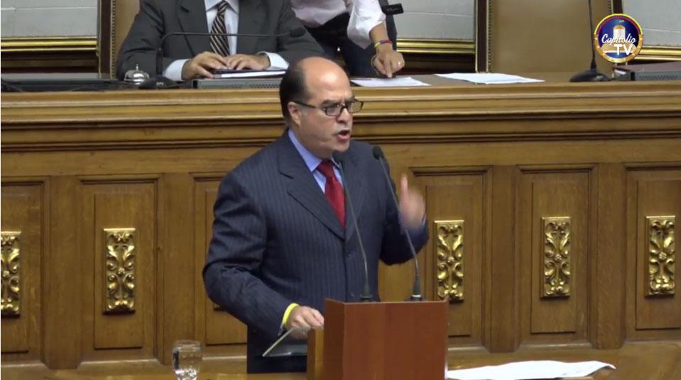 Julio Borges: Declaramos la rebelión de la Asamblea Nacional frente a la ruptura de la Constitución