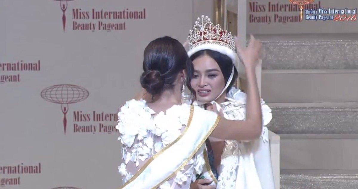 Miss Internacional: Miss Filipinas fue coronada en la edición 2016