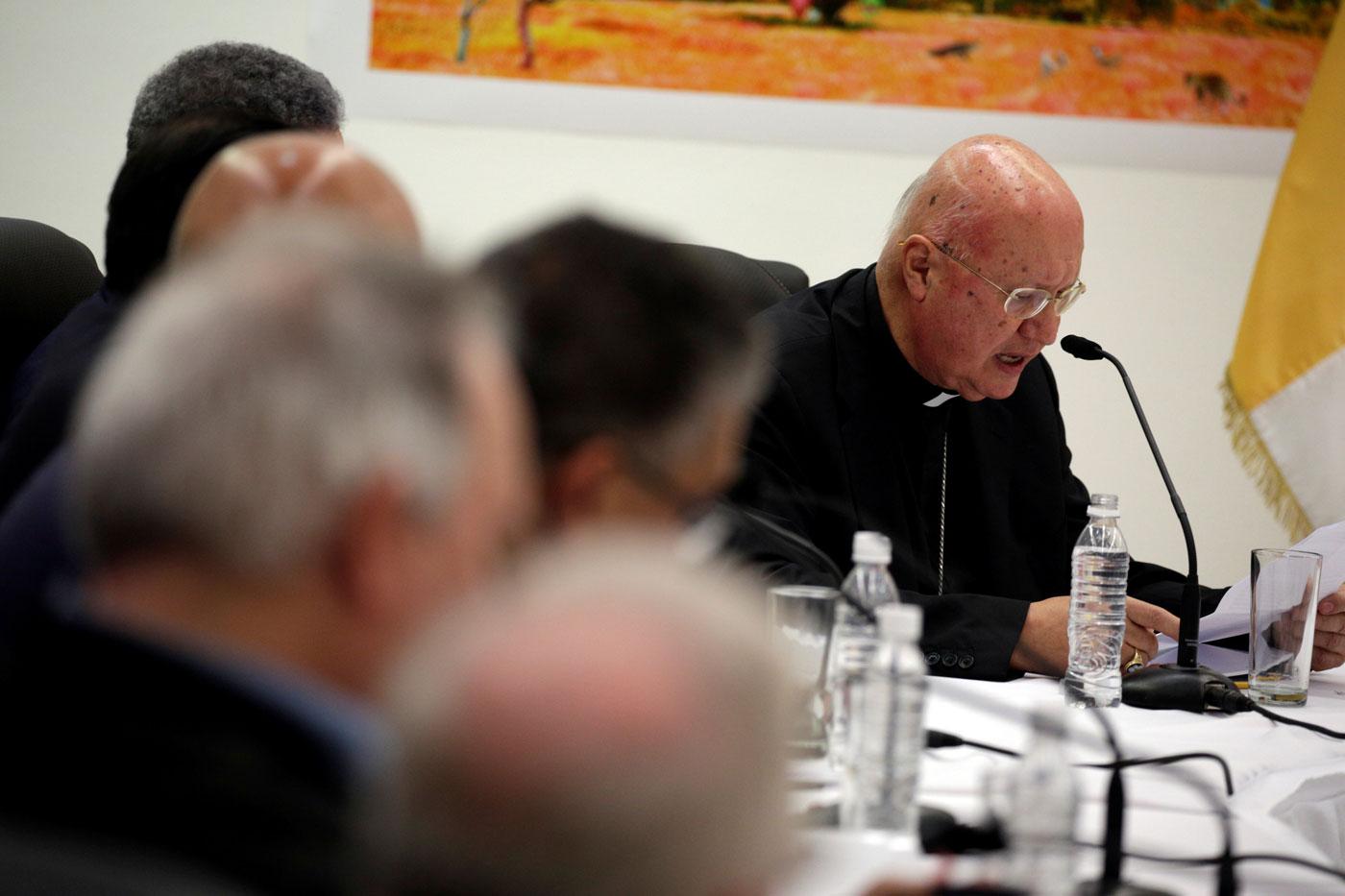 Claudio Celli, enviado del Papa a Venezuela: La situación está muy fea, no hay comida, no hay medicinas