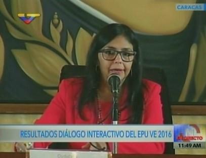 Países manifestaron respaldo al modelo de derechos humanos en Venezuela — Canciller