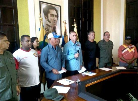 Unas 36 armas fueron robadas de la sede policial de ciudad Bolívar