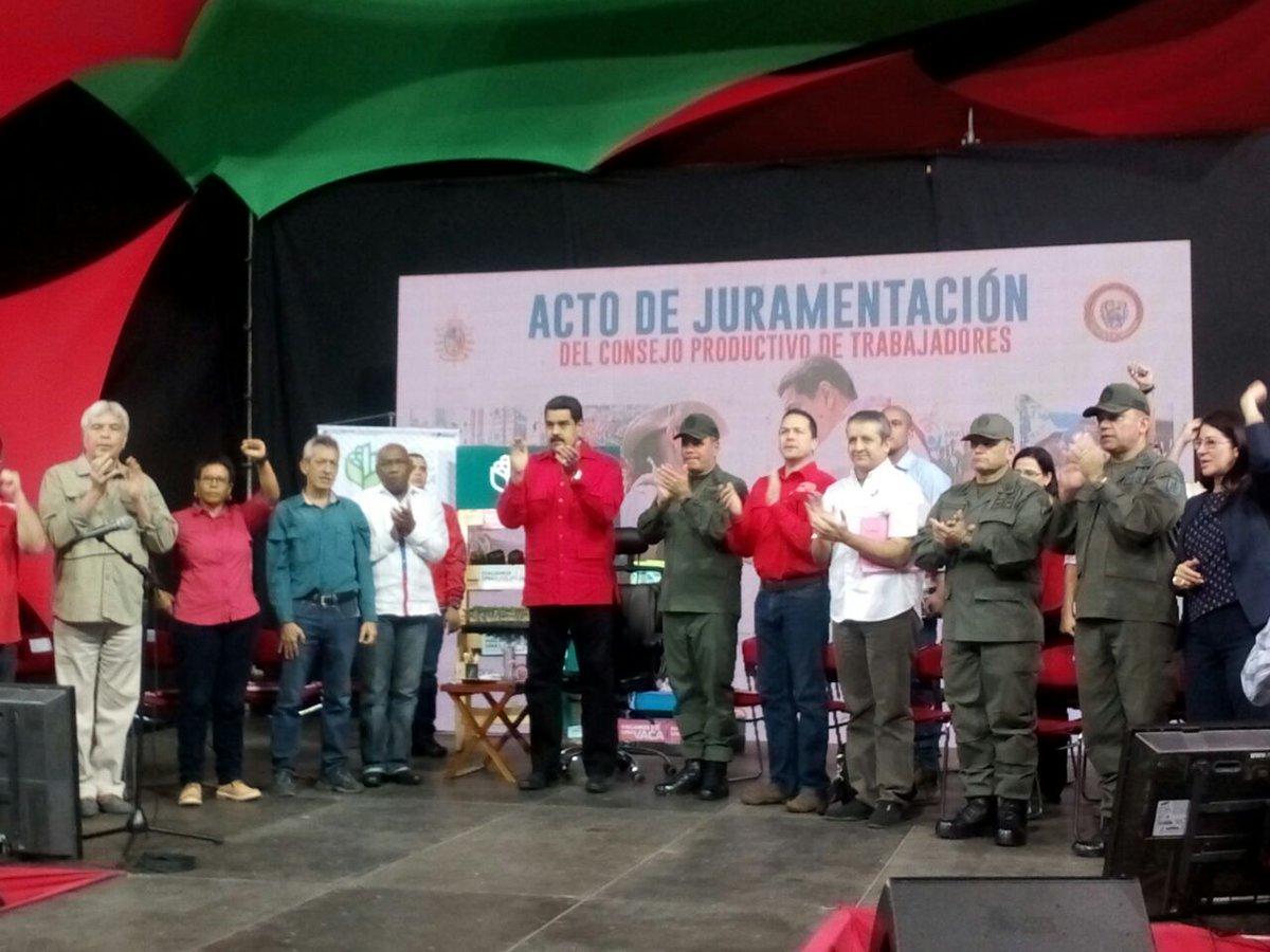 Maduro llama a clase obrera a transformar economía de Venezuela
