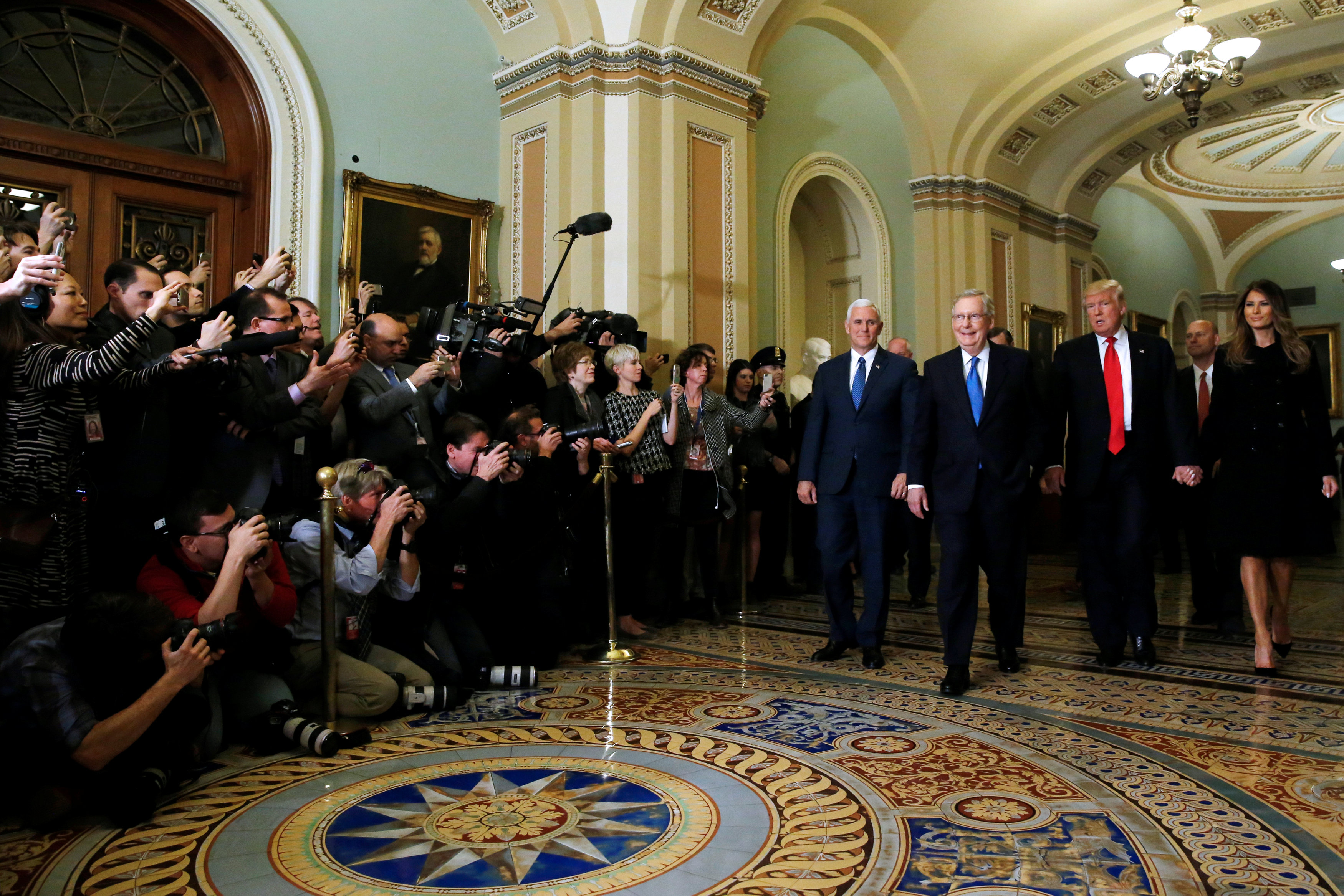 Cumbre histórica: Trump espera poder