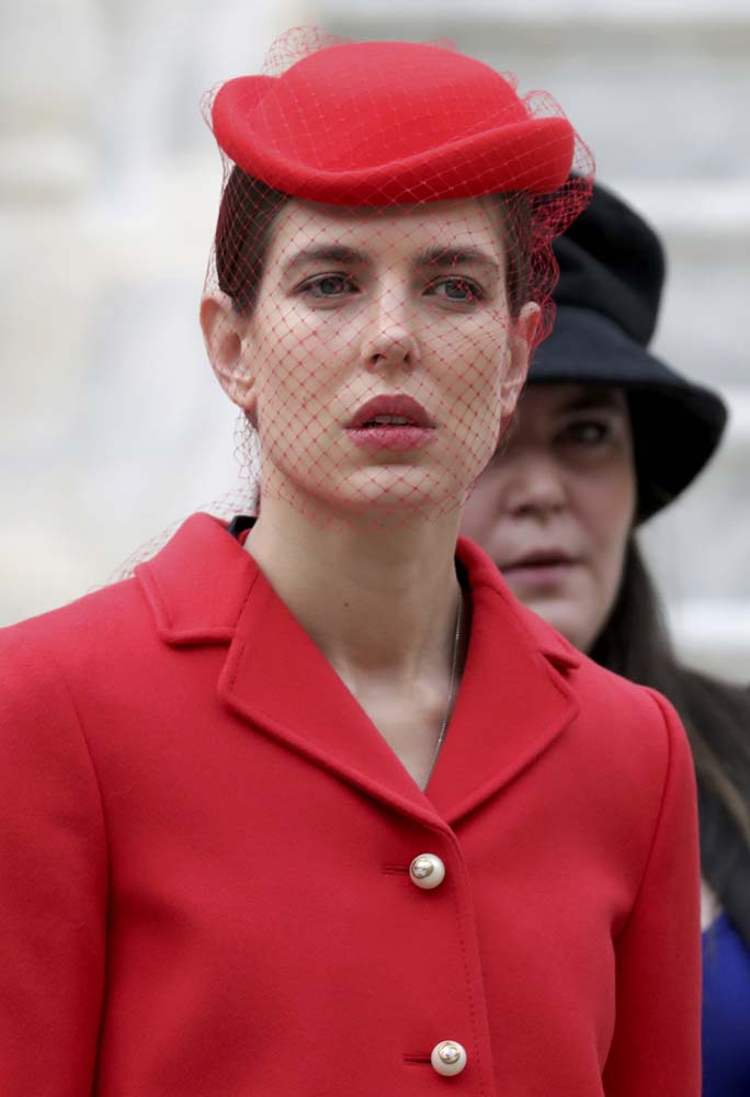 Charlotte Casiraghi attends the celebrations marking Monaco's National Day at the Monaco Palace November 19, 2016. REUTERS/Eric Gaillard