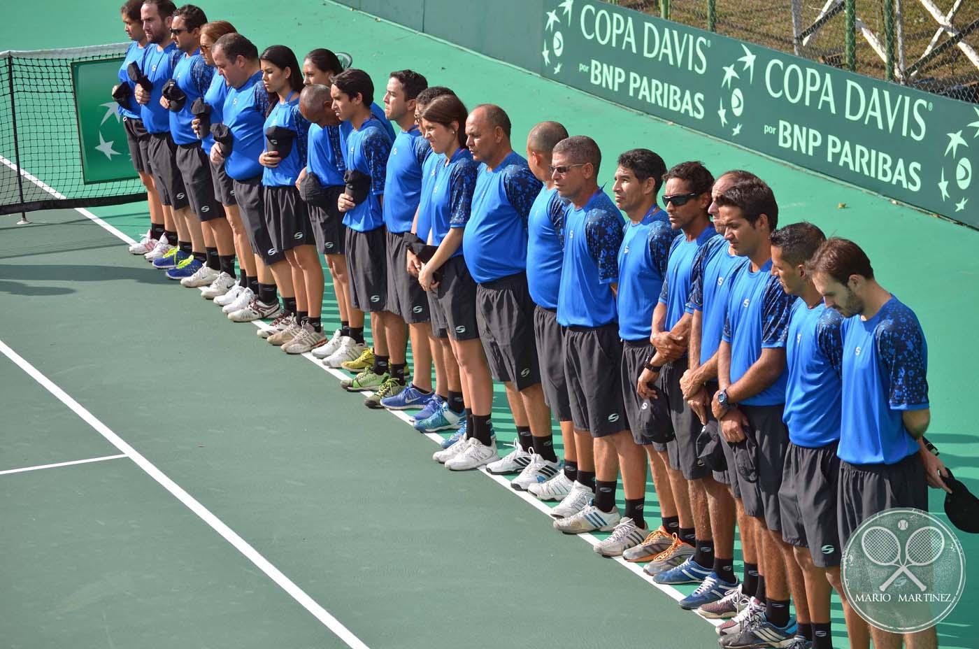 Jueces de linea Copa Davis