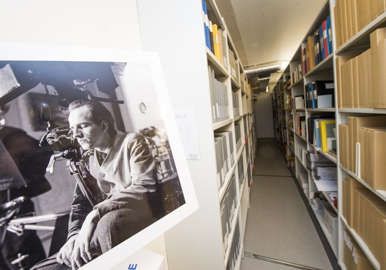 (FILES) This file photo taken on November 08, 2016 shows the Ingmar Bergman archives located at the Film House in Stockholm. Discovered in Ingmar Bergman's archive, a previously unknown manuscript about sexual and social revolution in the 1960s is to be turned into a movie, nearly a decade after the Swedish director's death. / AFP PHOTO / JONATHAN NACKSTRAND / TO GO WITH AFP STORY BY ILGIN KARLIDAG//XGTY
