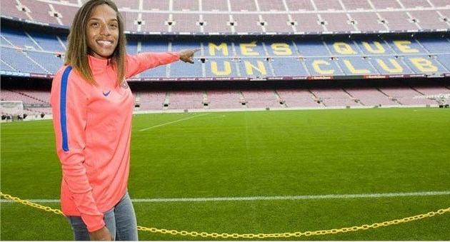 Destacan fichaje de venezolana Yulimar Rojas con el Barcelona