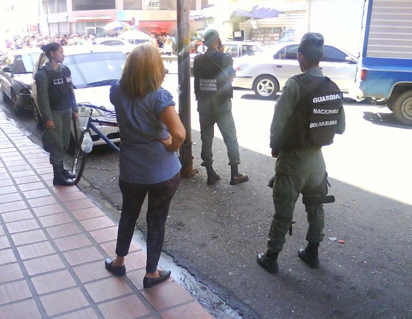 Amedrentamiento en Guanare