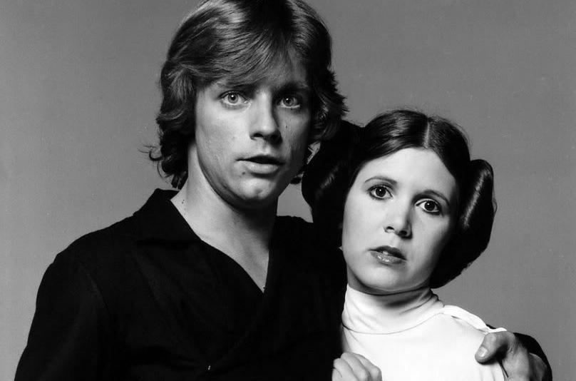 Star-Wars-Mark-Hamill-and-Carrie-Fisher-as-Luke-and-Leia