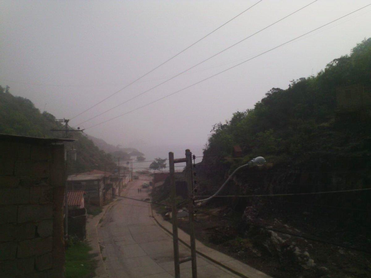 Foto: Contaminacion ambiental en Guanta / Nota de prensa