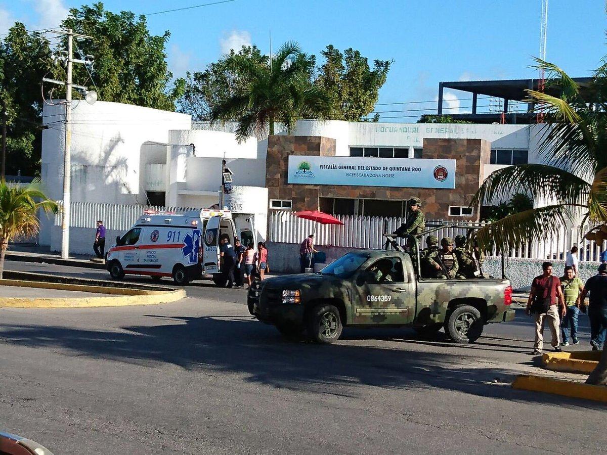 Fiscalía en Cancún