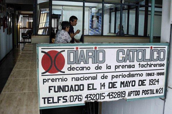 """93 años cumplía """"el decano de la prensa tachirense"""" el catorce de mayo. (Foto: Carlos Eduardo Ramírez)"""