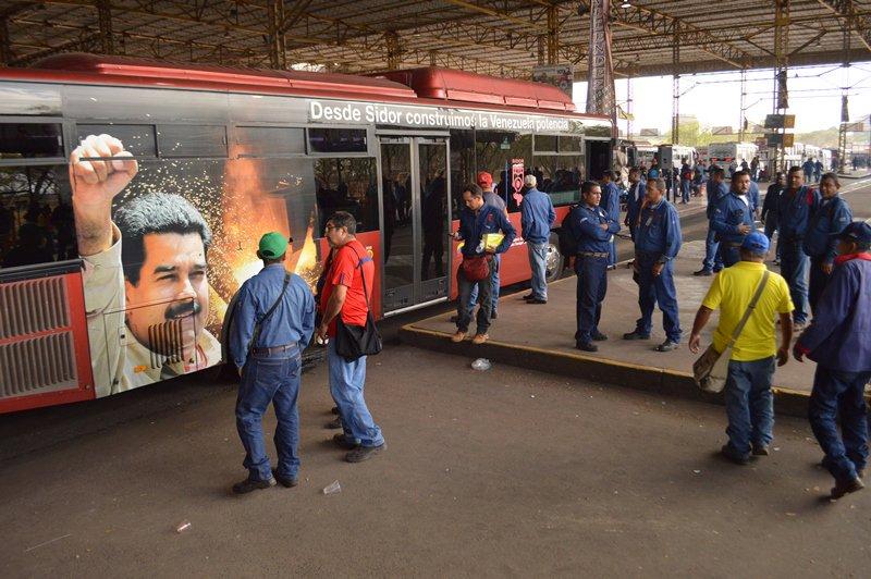 Referencial: Maduro en Sidor