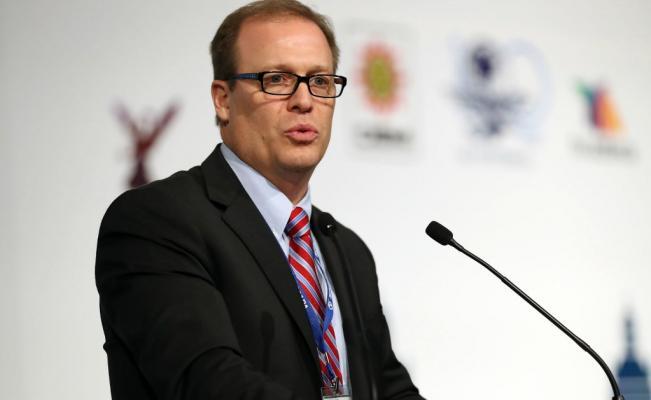 Matt Sanders, presidente de la Sociedad Interamericana de Prensa (SIp) / Foto El Universal México