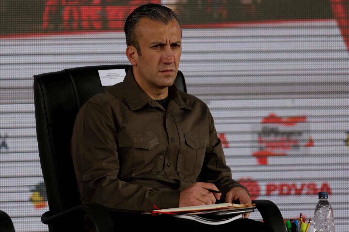 El vicepresidente de la República, Tareck El Aissami