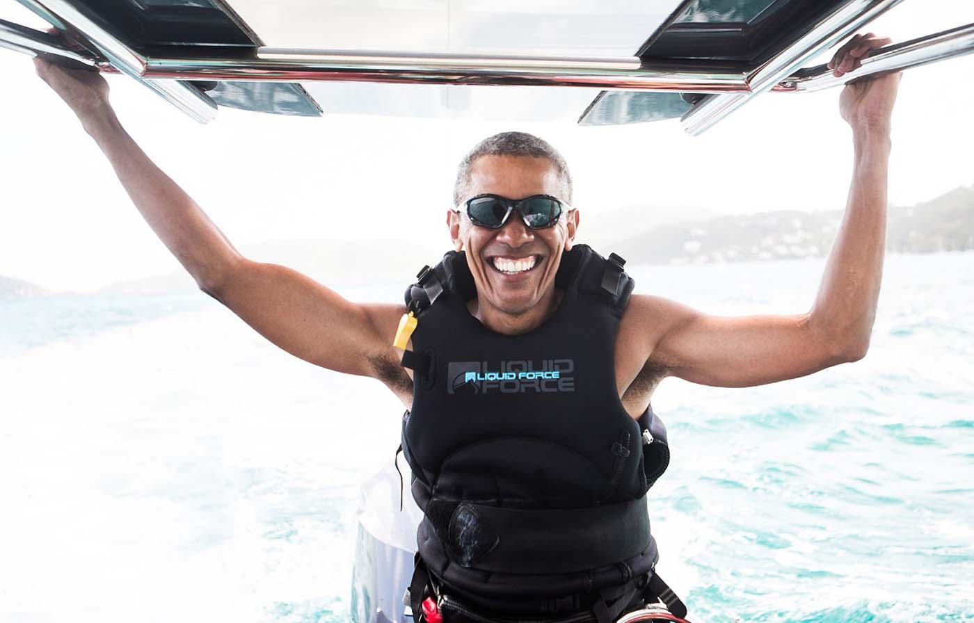 Las fotos de los Obama de vacaciones en la Polinesia francesa