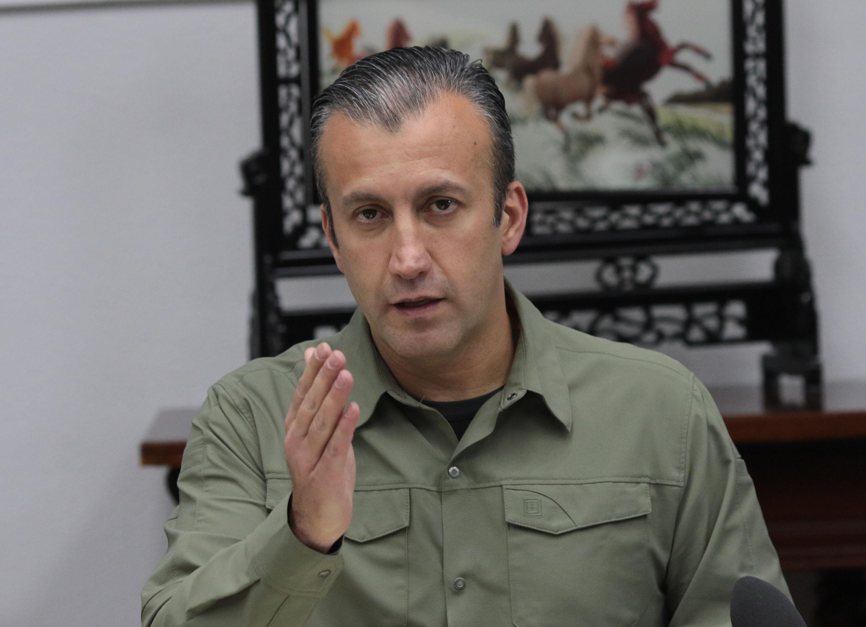 El vicepresidente de la República, Tareck El Aissami. Foto: AVN