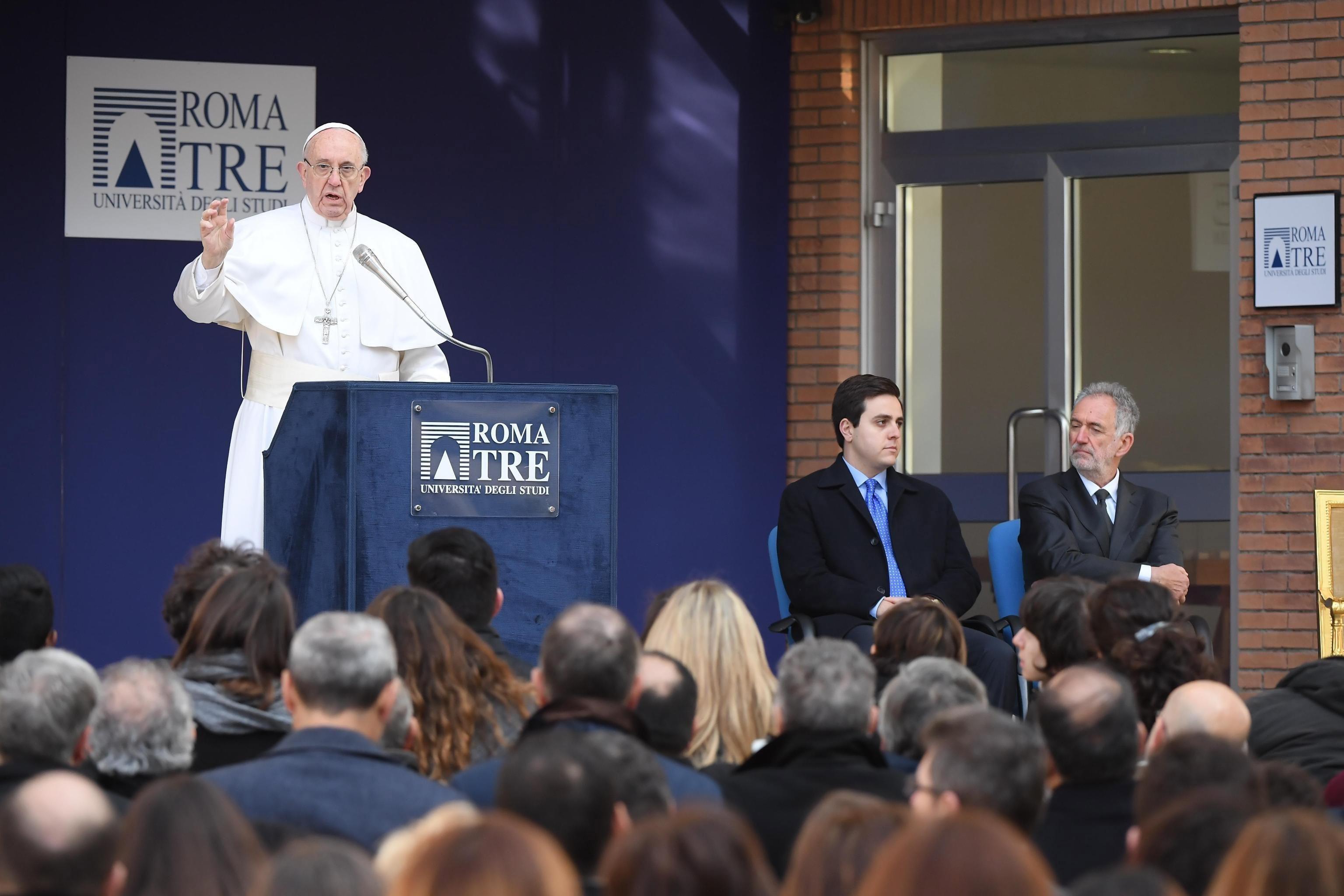 Papa Francisco - Roma TRE
