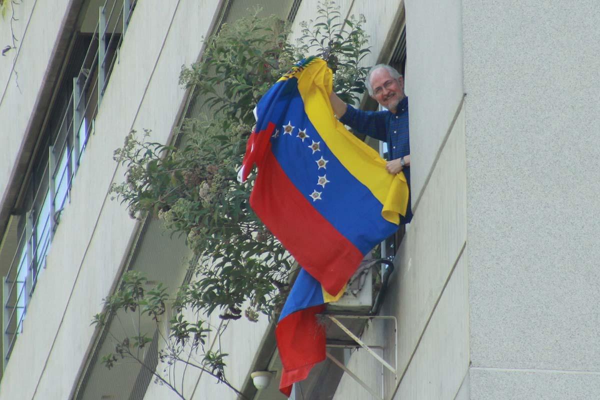 Antonio Ledezma, alcalde metropolitano de Caracas, quien cumple arresto domiciliario / Foto Archivo