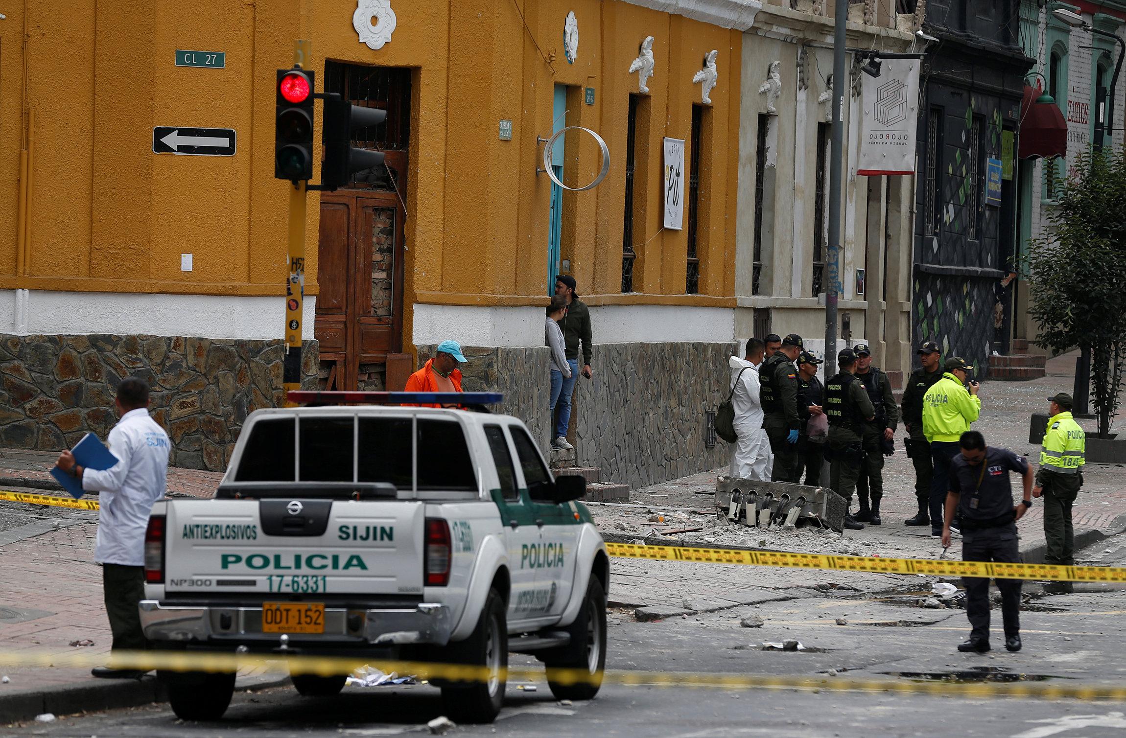 REUTERS/Jaime Saldarriaga TPX IMAGES OF THE DAY