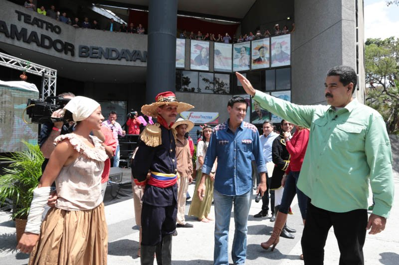 Aprobaron creación del Centro de Formación Integral del Artista Venezolano